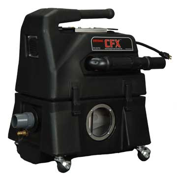 Rotovac cfx carpet cleaning and flood pumper extractor r for Carpet extractor vacuum motor