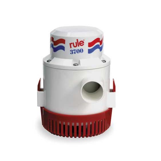 Rule 3700 GPH Bilge and Shower Pump 12 Volts (Free Shipping) 14AM