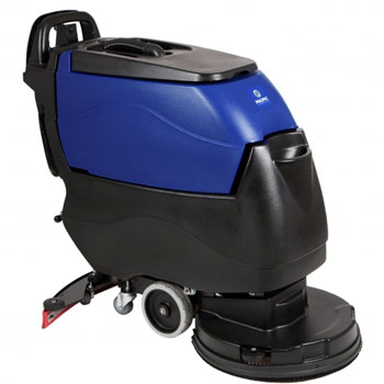 Pacific Floorcare 855401 S-20 disk scrubber pad assist 130AH lead acid batteries on-board charger and pad driver