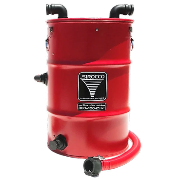 Sirocco Sand And Leaf Trap 30 Gallon Vacuum Tank 28487646
