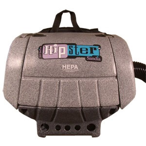 Sandia: D-P Hipster Hip Vacuum- 6 Quarts, 112 CFM, 1.5 HP, 6.8 Amps, 115 Volts (With Power Head Accessory) (!!!Free Shipping!!!)