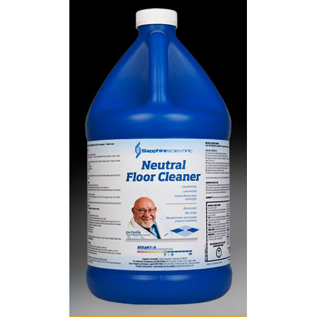 Chemspec Sapphire Scientific VersaClean 76-290 Workday Neutral Floor Cleaner (4/1 Gallon Case) Half Price Shipping