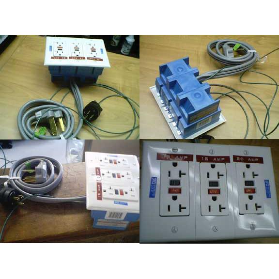 220 volt to 110 volt converter w 6 gfci outlets sbm220x110x6 220 volt to 110 volt converter w 6 gfci outlets sbm220x110x6 electrical adaptor parts