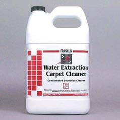 Franklin Water Extraction Carpet Cleaner 4/1 gallon case