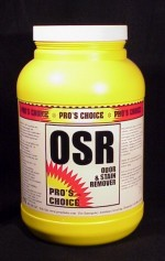 Pros Choice OSR Odor Stain Remover ProsChoice CTI Case 4/1 Powder gallon Jar