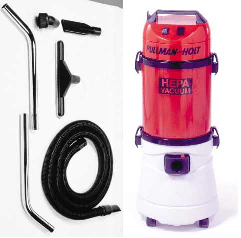 Pullman Holt 45HEPA-WD Wet Dry HEPA Filtration Vacuum