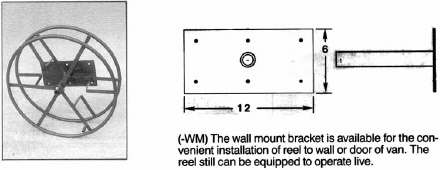 Rokan WM Wall Mount Bracket for Solution Hose Reel AR09