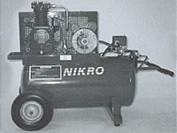 Nikro: Portable Electric Compressor 150 PSI