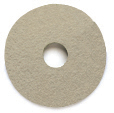 Powr-Flite 16 inch THIN TAN BUFF PAD