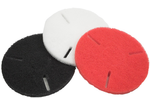 Rotovac 12-Thick-Black Polishing pad for use with RA-209 on 360i machine