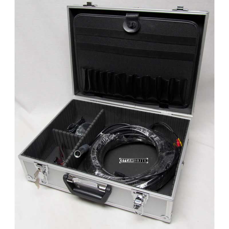 .Clean Storm Air Duct and Sewer Inspection Color Video Camera System (High Resolution) with Case