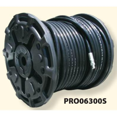 Pressure Pro PRO06550S Sewer Jetting Jetter Hose 3/8 in ID X 550 ft Black 3600psi