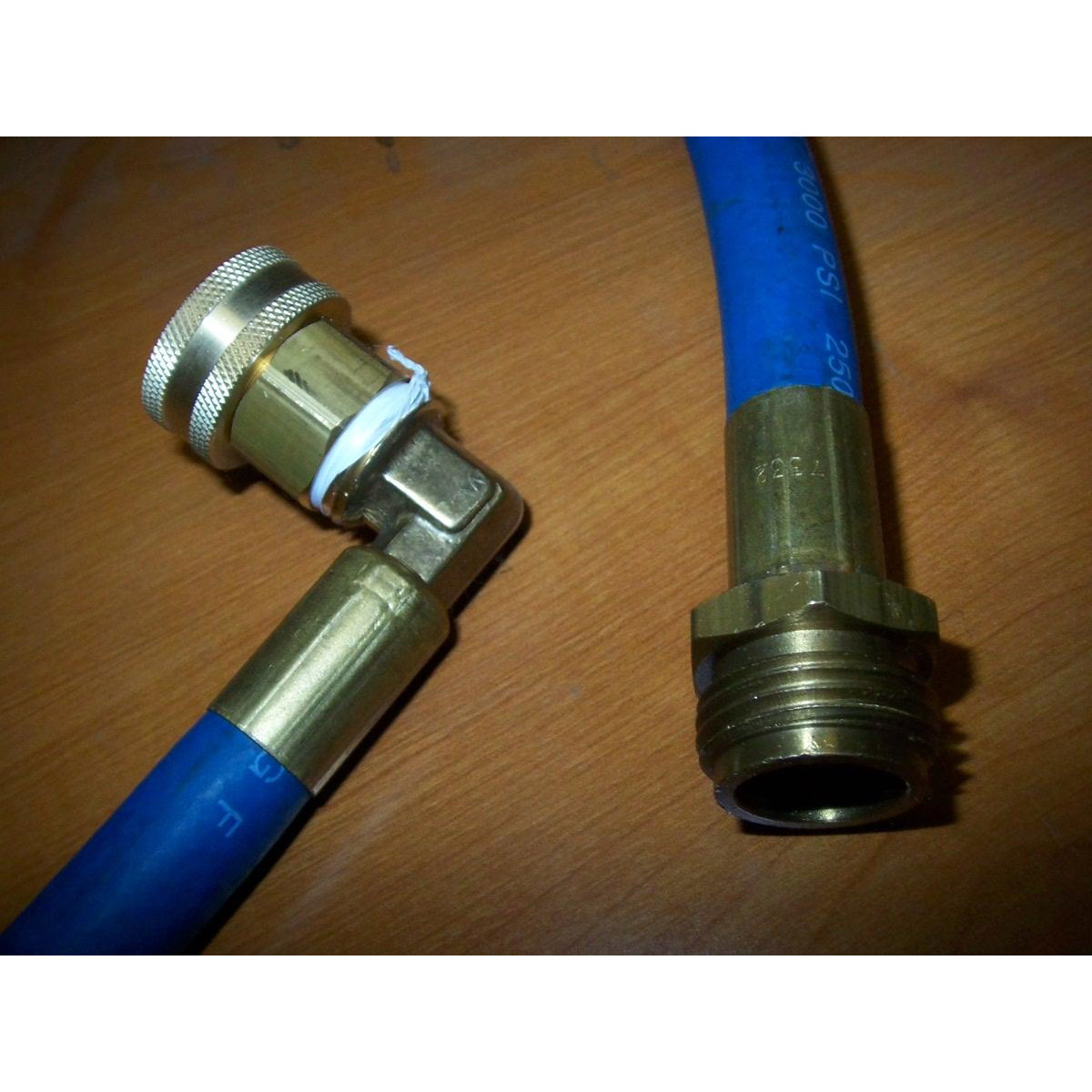 Clean Storm Auto Fill Hose 6 ft By 1/2 Inch ID with 90 degree Fitting for Hot water Garden Hose 20130305