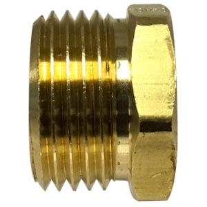 "1/2"" Fip X Male Garden Hose Brass Adapter 30068"