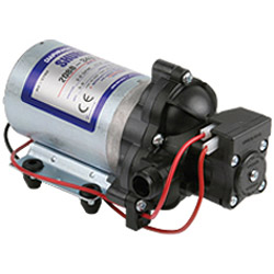 "Shurflo 2088-343-500 12Volt 50psi 3.3Gpm DC Diaphragm Pump (No Switch) 1/2"" MPT Ports"