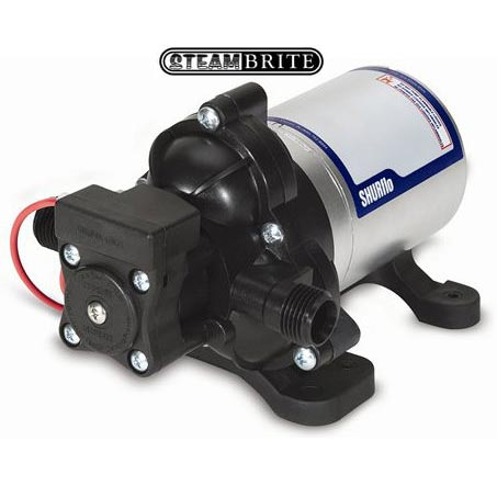 Shurflo 2088-422-444 Water Pump 12 volts 45psi 2.8 gpm 2088-424-544