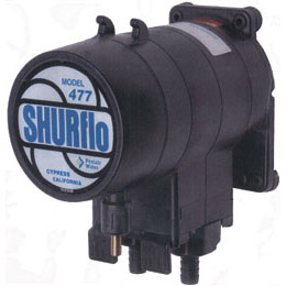 Shurflo 477-400-02 100psi  10gpm Air Operated Diaphragm Pump, Viton