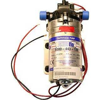 Shurflo 8000-443-136 Pump 12 volts 60 psi 1.6 gpm FREE Shipping if purchased on line