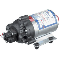 Shurflo 8007-543-836 Positive Displacement 3 Chamber Diaphragm Pump 12 Volt 60 PSI (8007-593-836)