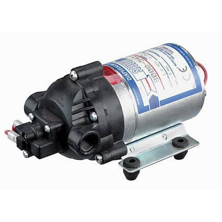 Shurflo 8090-802-278 100psi 230volt 4gpm Positive Displacement 3 Chamber Diaphragm Pump