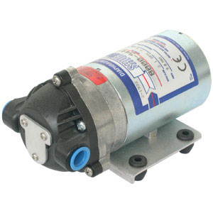 Shurflo 8000-812-280 100psi Internal Bypass 1.4GPM open flow Viton valves Santoprene diaphragm 115 volts