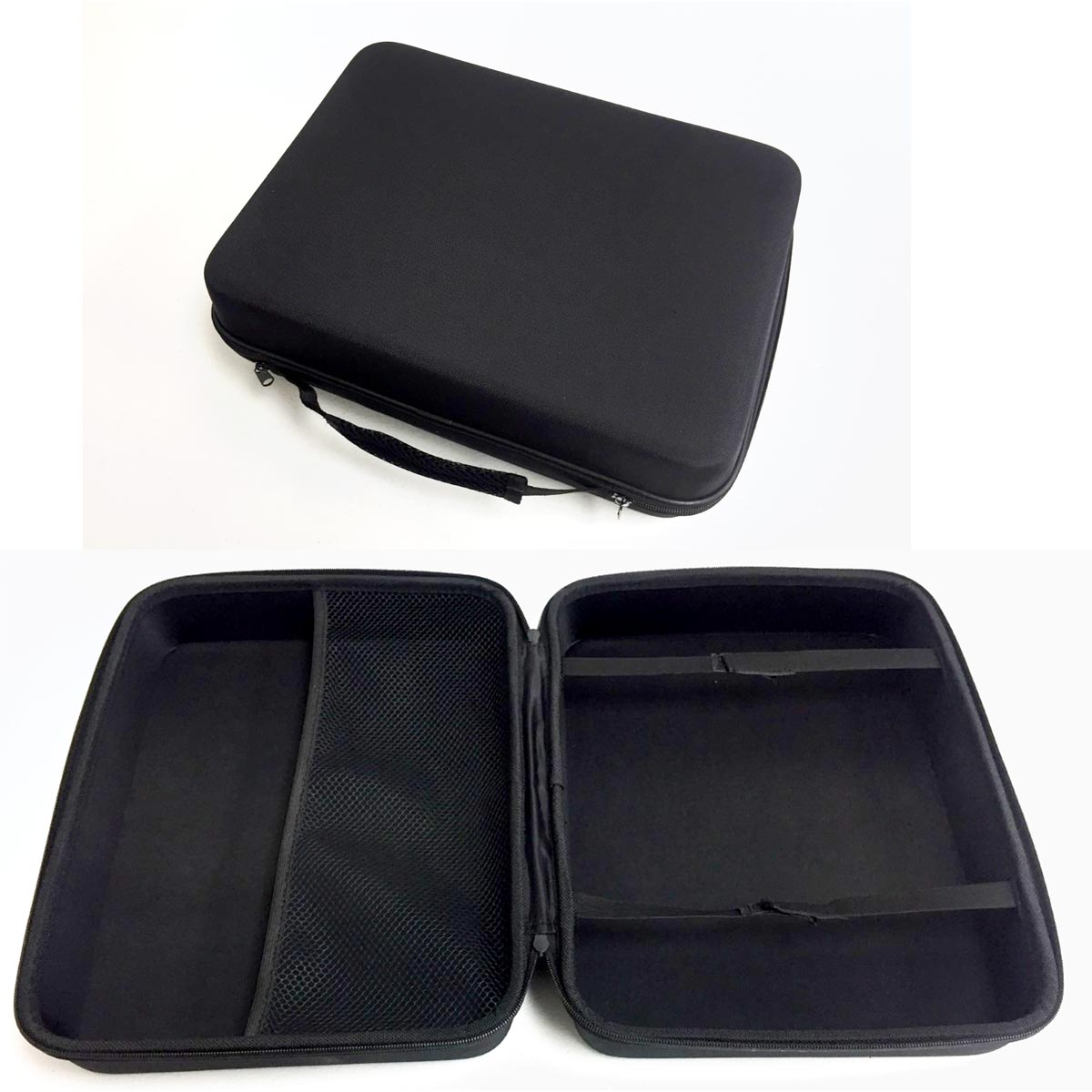 "Soft Side Zippered Storage Case 15"" X 12"" X 5"" FREE Shipping"