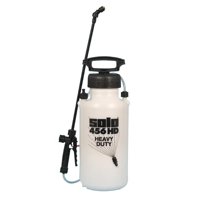 Solo 456HD Chemical Resistant 2 Gal Plastic Sprayer Pump Up with Viton Seals