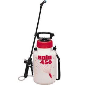 Solo: 2 Gal Chemical Resistant Plastic Sprayer 456HD Pump Up with Viton Seals