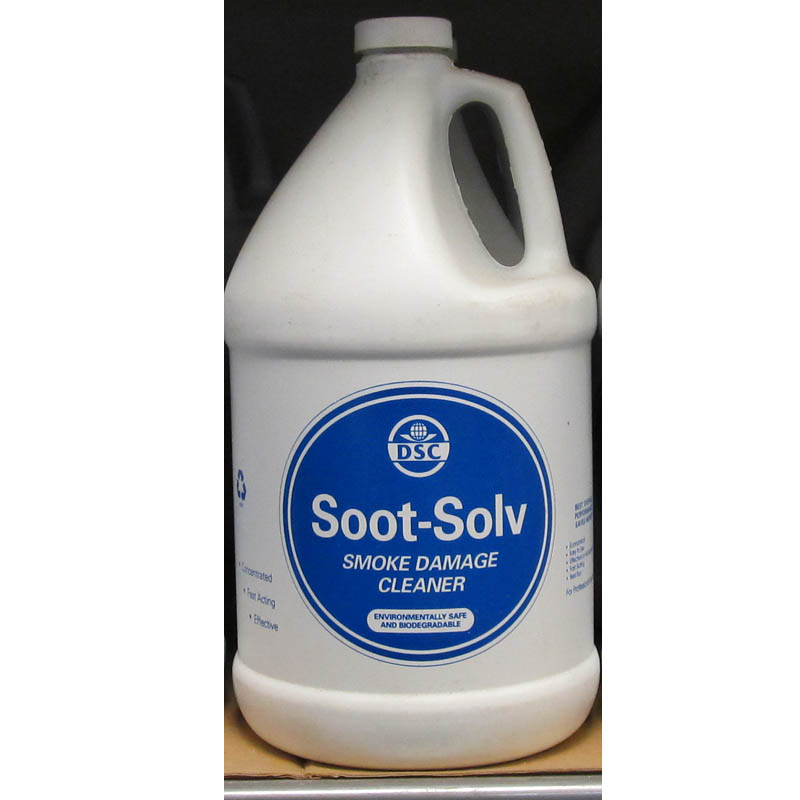 DSC Products: Soot-Solv Smoke Damage Solution - 2 Cases 8 Gallons