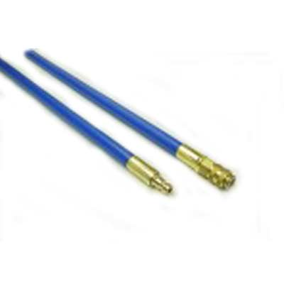 Heat Seal Equipment: 5ft X 3/8in Blue Medium Flexible Rods
