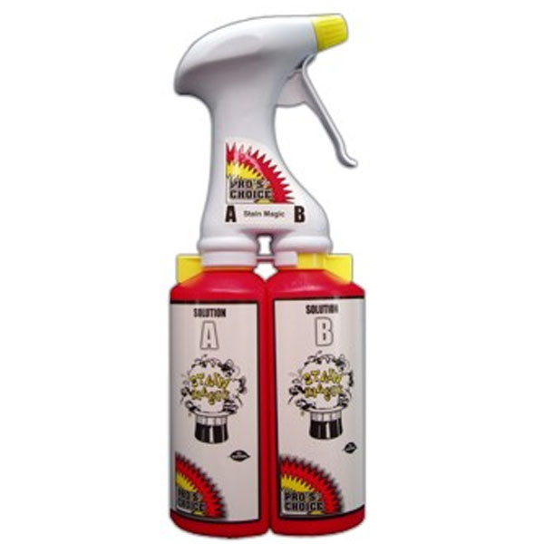 Pros Choice SMTS-1 Stain Magic Dual Chambered Trigger Sprayer - 1 Unit CTI 4002C