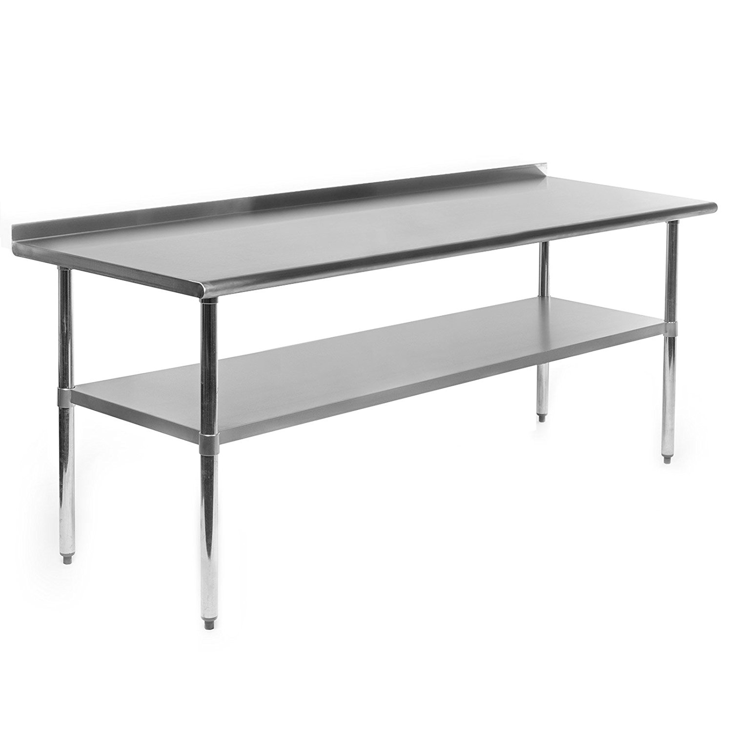 Restoration Stainless Steel Cleaning and Prep Table 6 ft X 2 ft with Back Splash 20180605 FREE Shipping