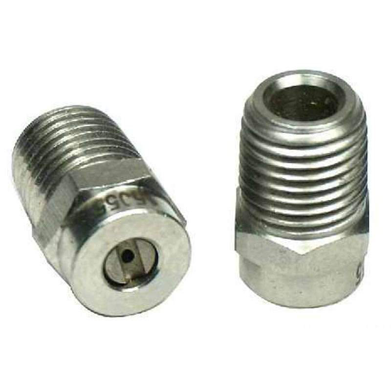M-Style M00025 Meg Nozzle Ss 1/4in Mip 2.5 X 0 Degrees - V00025M