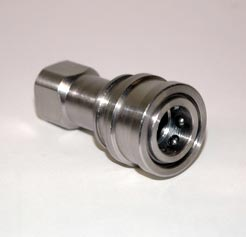 Carpet Cleaning Stainless Steel 1/4 in Female Quick Disconnect QD 104QDSS-S Coupler Socket 8.697-087.0  10-0678  NA012  B003-1