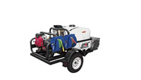 Trailer Mounted (Hot & Cold) Pressure Washers
