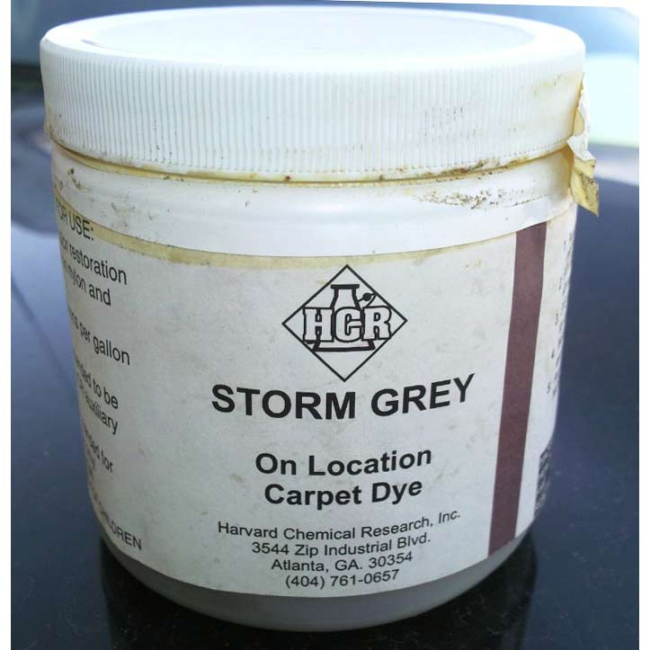HCR Storm Grey Powder Carpet Dye 1 lbs (25% off) Limited Stock