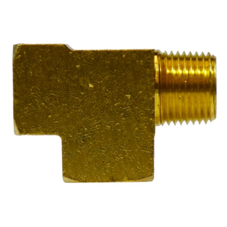 1/4in Mip X 1/4in Fip X 1/4in Fip Street Run Tee Brass Heavy Duty 28246