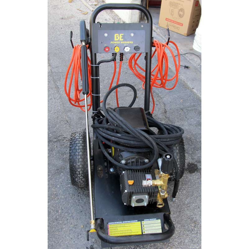 Clean Storm 6720 Cleaning Units 2100 psi 3.2 gpm Cold Electric Pressure Washer 2 Power Cords 115 Volts