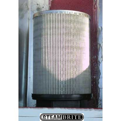 Truck Mount Waste Tank Filter 3in FPT X 100 Mesh X 8.5 inches OVL (6.5 inches Screened) Stainless Steel E131-Short Size