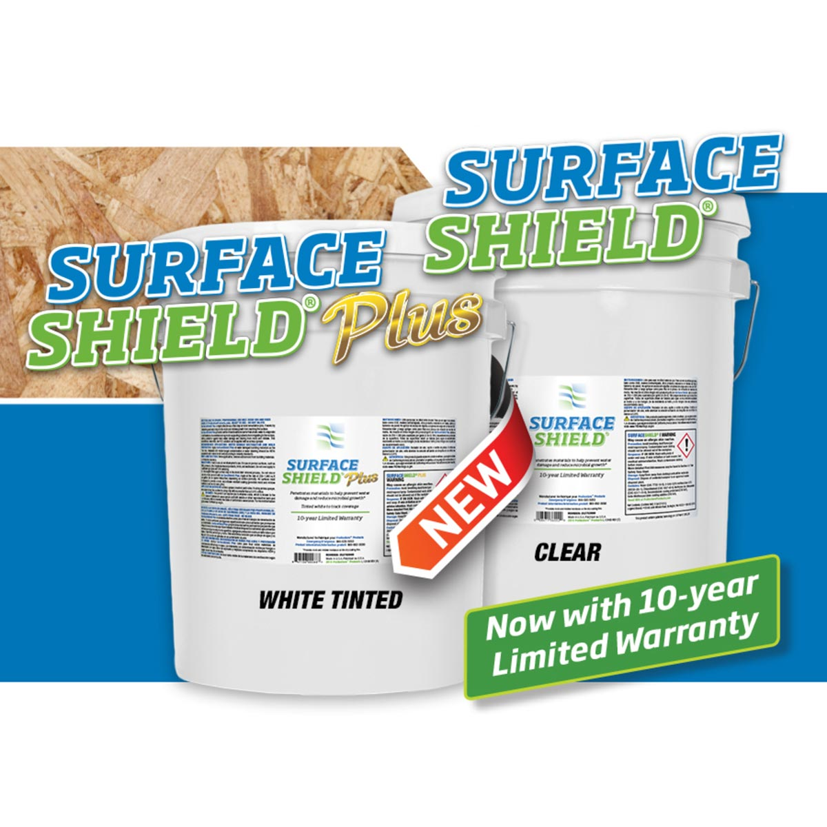 Chemspec Prorestore OdorX 252763000 Surface Shield 5 Gallon Pail Unsmoke White Tint