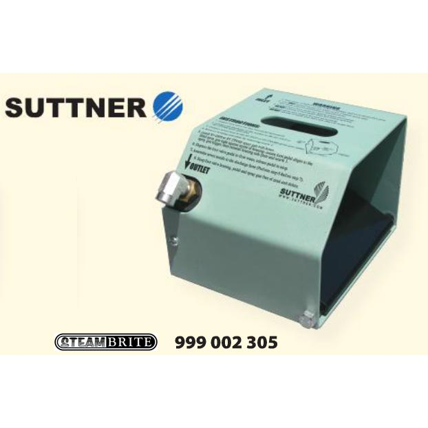Suttner Jetter Foot Control Valve 5000 psi 12 gpm 300 degree 999 002 305 Jetting Pedal