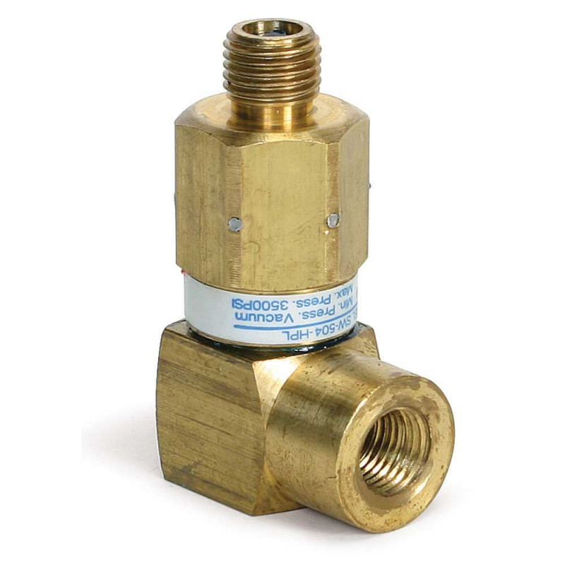1/4in Mip X 1/4in Fip Brass 90 degree Gun Swivel 3500psi [8.712-479.0]  421080 FREE Shipping