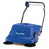 Powr-Flite: Piranha 36 inch Sweeper with battery and charger PS900BC