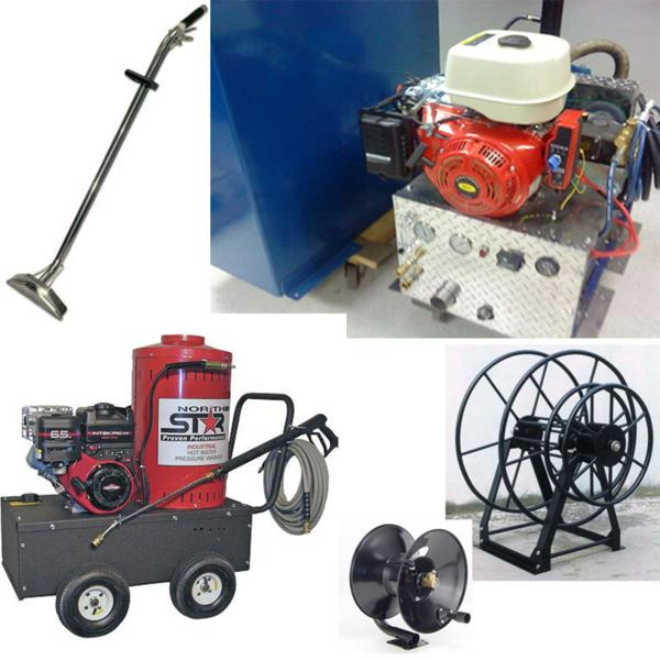 Steambrite mfg hp truckmount pressure washer with