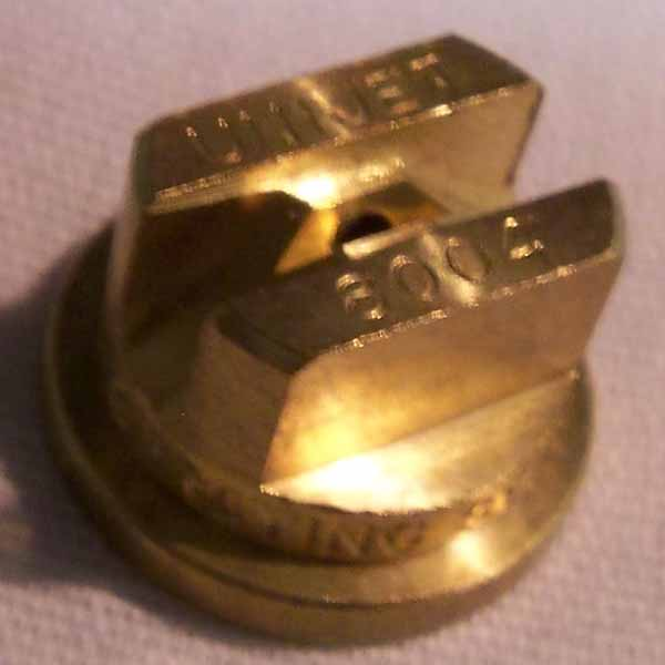 Spraying Systems Teejet 8004 Brass TPU Nozzle