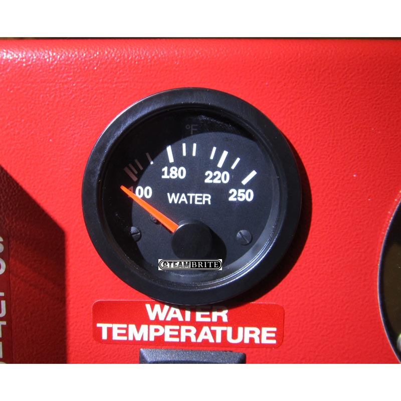 MasterBlend 730013 White Magic A017 Temperature Gauge (no sending unit)