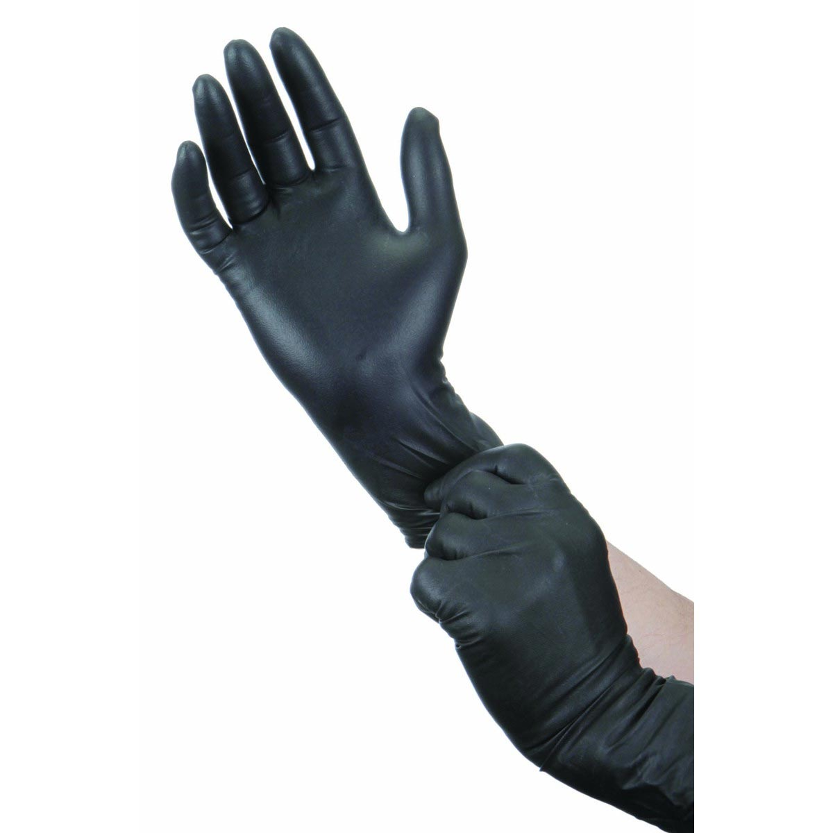 Hardy Nitrile 9 mil thick Box of 50 MED Gloves