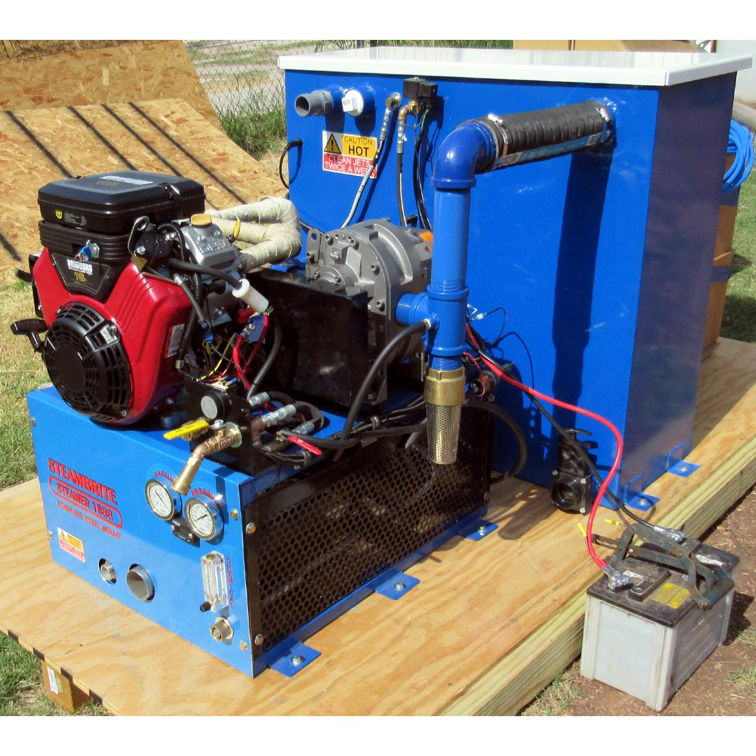 Steambrite Mfg 15 Hp Scout Truckmount Carpet Cleaning