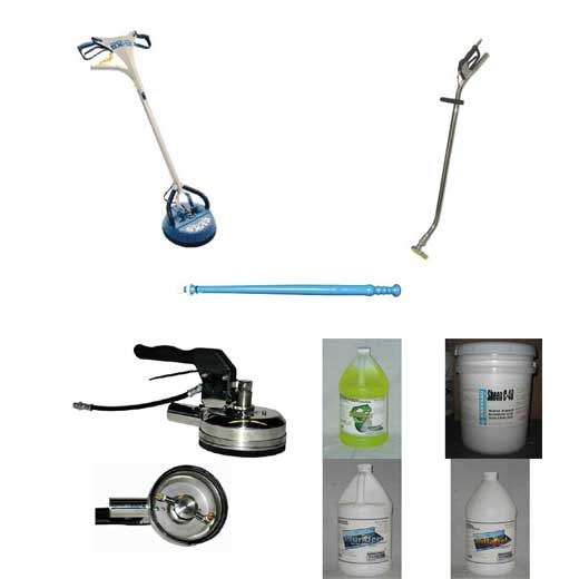 Clean Storm Tile and Grout Cleaning Tools and Chemicals Start Up Package