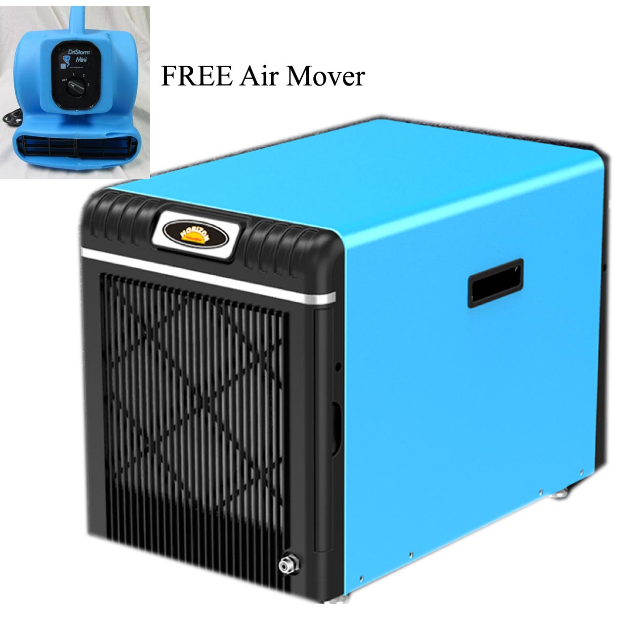 Horizon XP90 Crawl Space Compact Restoration Dehumidifier 90 ppd FREE Shipping FREE Air Mover FREE 3 Yr Warranty Home Owners Only